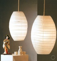 Japanese Lantern Table Lamp - Foter
