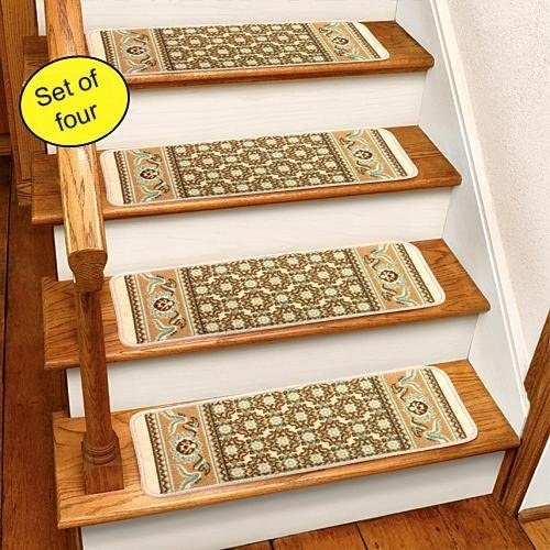 Carpet Treads For Wood Stairs Ideas On Foter | Carpet Stair Treads For Sale | Bullnose Carpet | Staircase Remodel | Stair Runners | Carpet Runners | True Bullnose