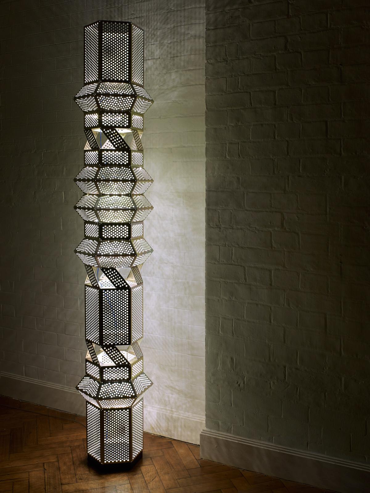 Column Floor Lamp  Foter