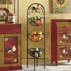Fruit Basket For Kitchen Stainless Steel Cabinets Manufacturers Ideas On Foter