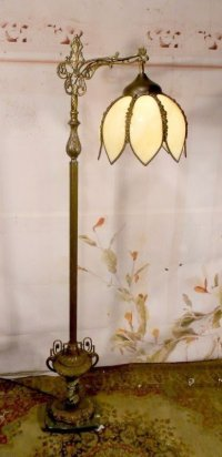 Bridge Arm Floor Lamp