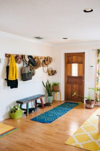 Hallway Coat Rack And Bench - Foter