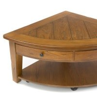 Pie Shaped Lift Top Coffee Table - Foter