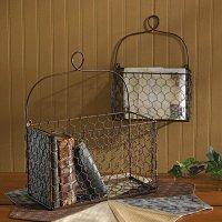 Decorative Wire Basket - Foter
