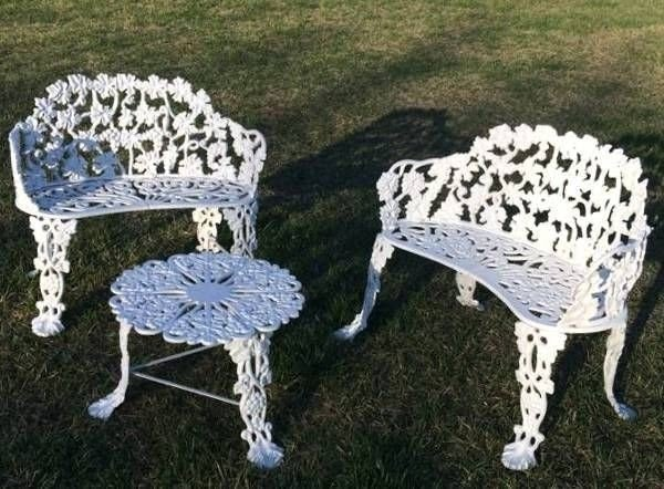 cast iron patio tables ideas on foter