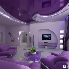 Purple Living Room Chair Wingback Leather Furniture Ideas On Foter Black