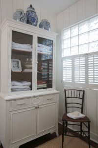 White Linen Cabinet For Bathroom - Foter