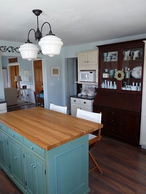 Kitchen Island With Butcher Block Foter