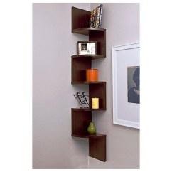 Kitchen Corner Shelves Ikea Set For Bedroom Ideas On Foter Furniture Of America Verena Contoured Leveled Display Cabinet Bookcase 2