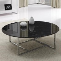 awesome glass and black metal coffee table with table ...
