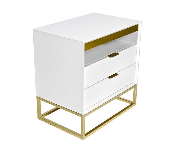 gold nightstands ideas on foter