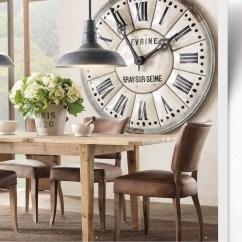 Kitchen Clocks American Classics Cabinets Large Wall Ideas On Foter Clock