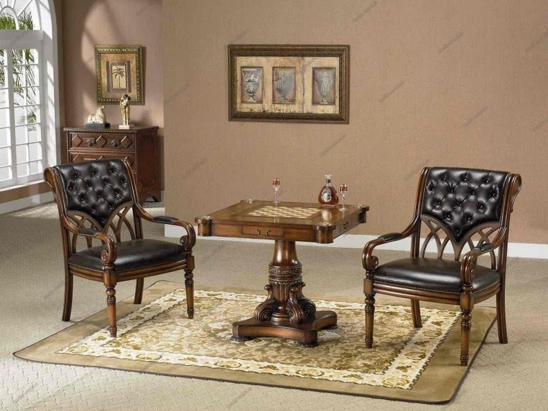 chess table and chairs black tufted chair tables ideas on foter 1