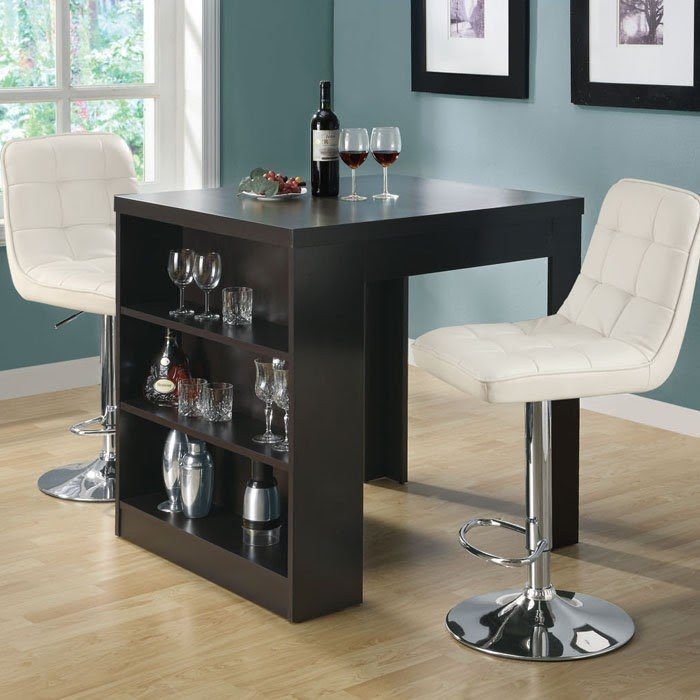 kitchen table storage where to buy a island dining with wine ideas on foter 5