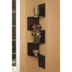 Corner Shelf For Living Room Blue Paint Ideas Shelves On Foter