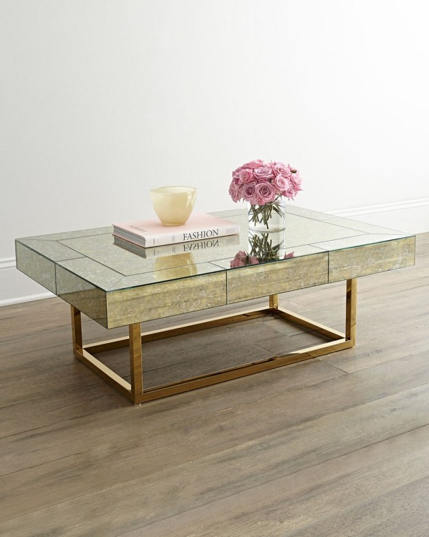 gold coffee tables - foter