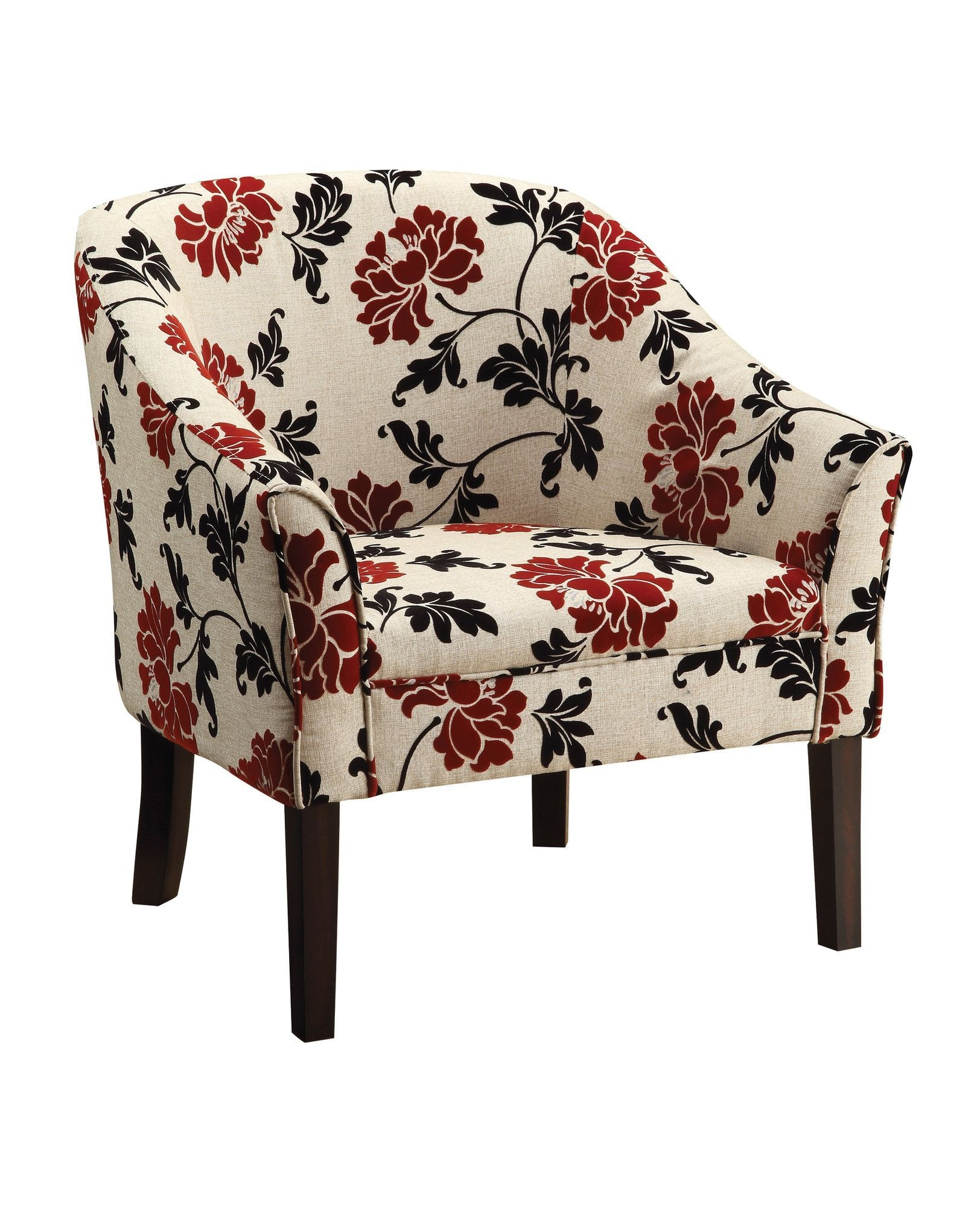 floral upholstered chair leg glides for wood floors accent ideas on foter