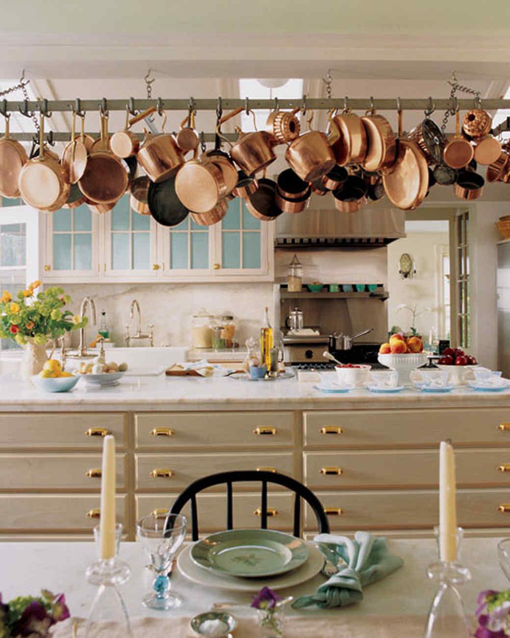 kitchen island pot rack ideas on foter