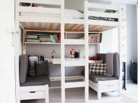 Bunk Beds With Desks Underneath - Foter