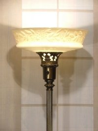 Antiques Torchiere Floor Lamp