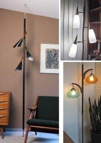 Floor Ceiling Pole Lamp - Foter