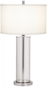 Glass Cylinder Table Lamp - Foter