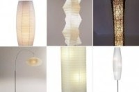 Rice Paper Lantern Floor Lamp - Foter