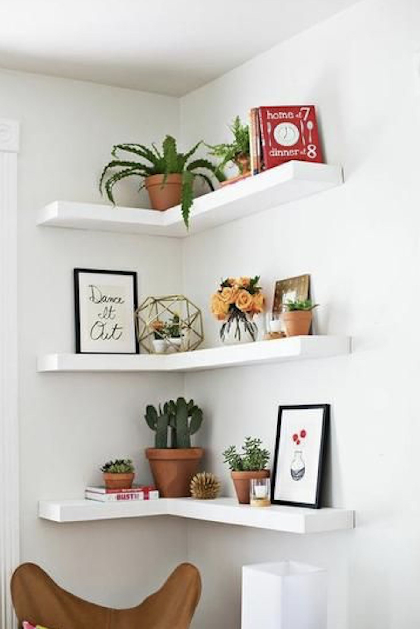 corner shelf for living room ideas painting dining combo shelves on foter floating suitable decorations