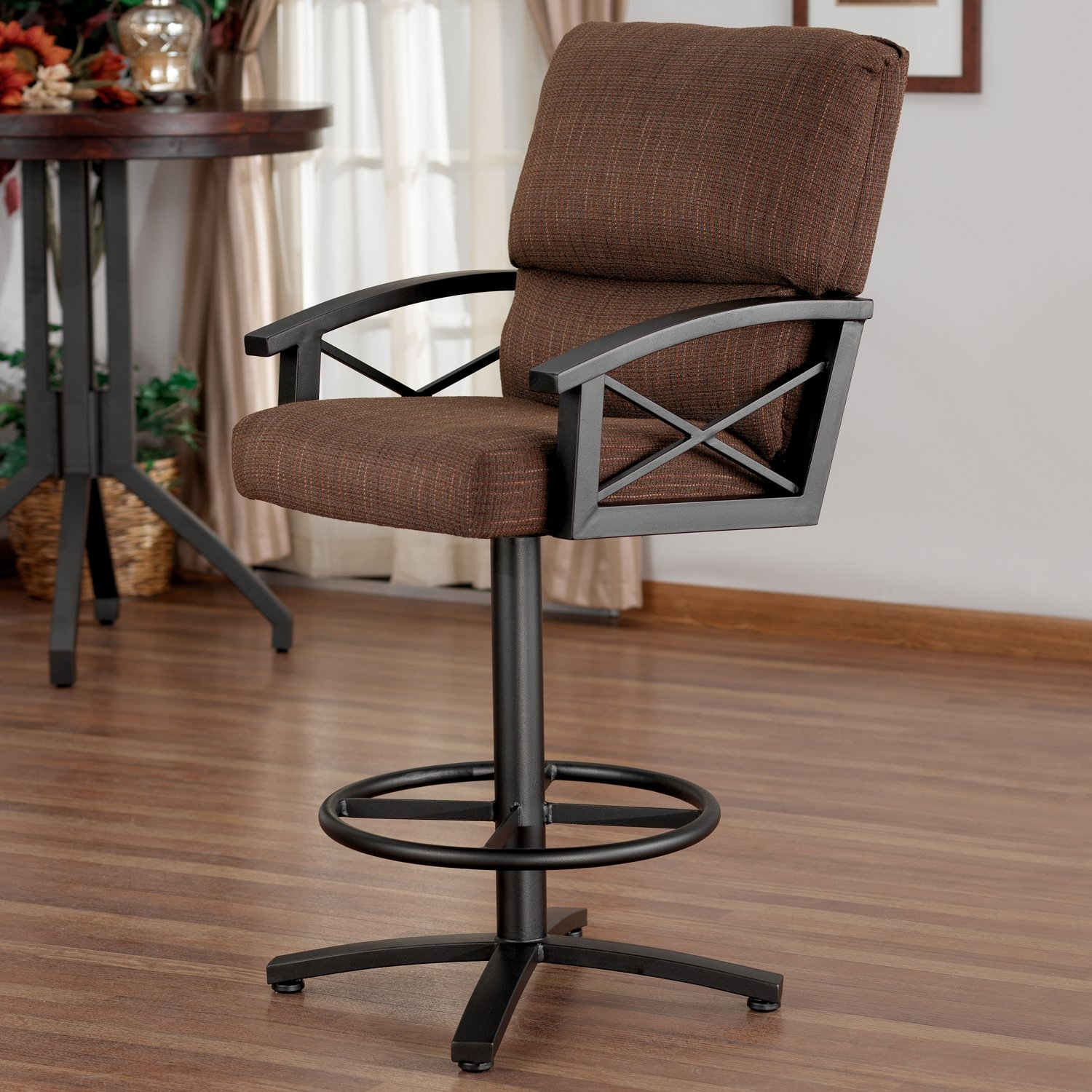 counter height arm chairs fabric foldable ideas on foter amsterdam swivel 26 barstool with arms