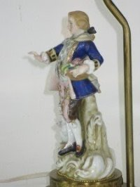 Porcelain Figurine Lamp