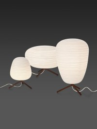 Rice Paper Table Lamp - Foter