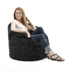 Bean Bag Chairs For Teens Dining Chair Fabric Seat Covers Bags Teenagers Ideas On Foter Big Joe Shag Milano