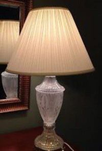 Lead Crystal Lamp - Foter