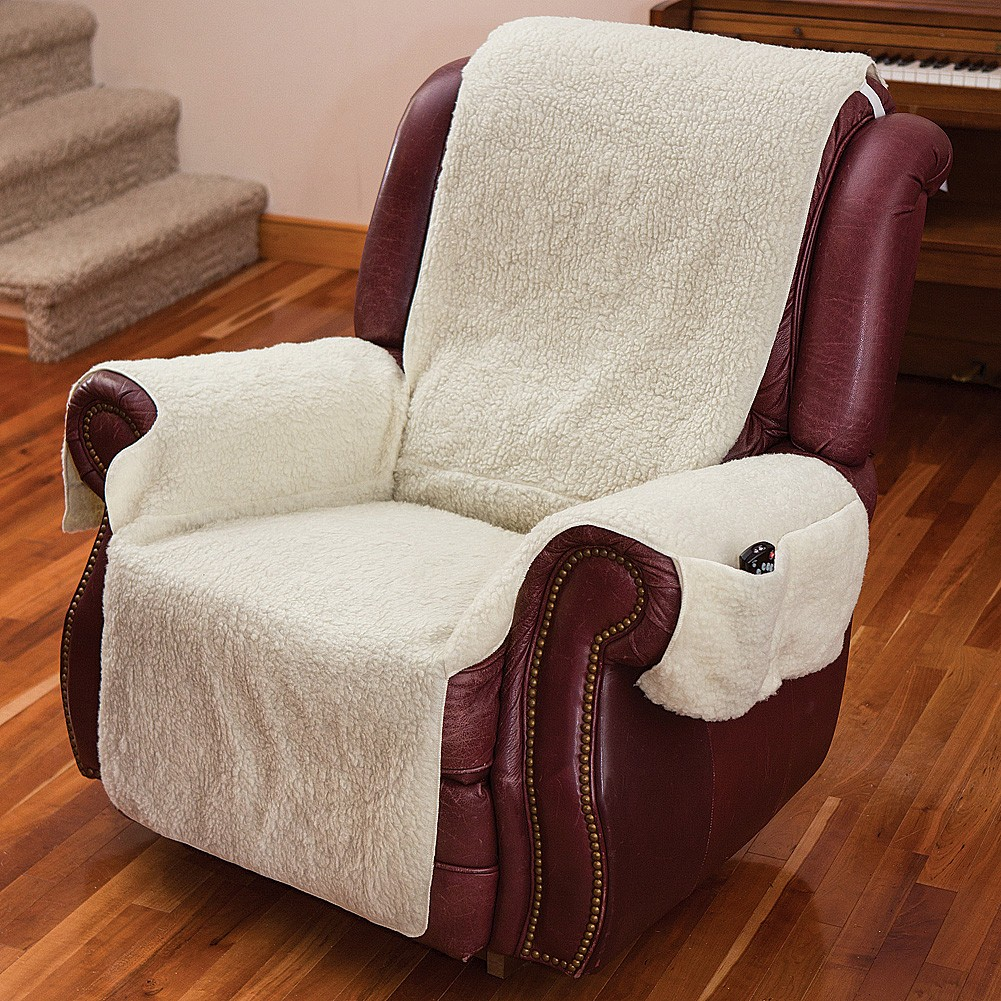 recliner chair covers repair outside chairs best for sale ideas on foter cover one piece w armrests and pockets size fits most