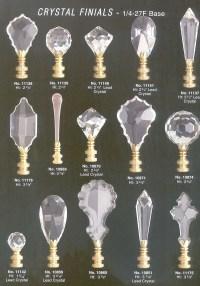 Crystal Lamp Finials - Foter