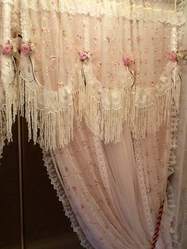 Shabby Chic Shower Curtains Ideas On Foter