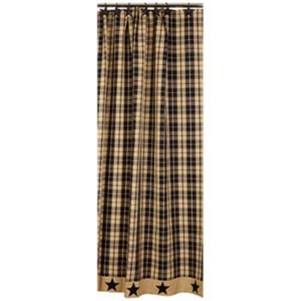 country plaid shower curtains ideas
