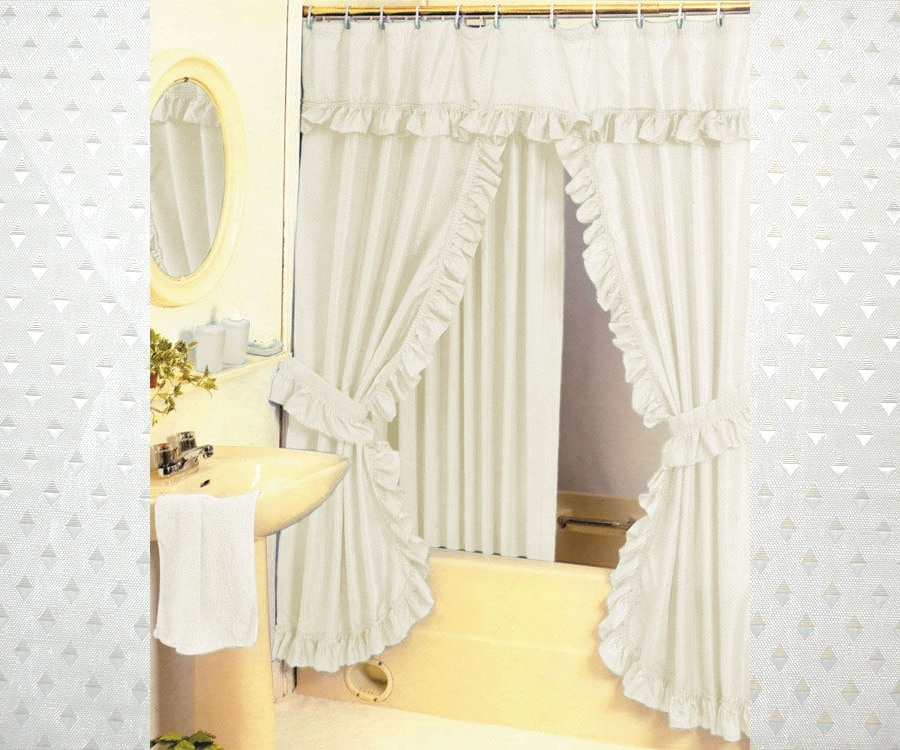 tie back shower curtains ideas on foter