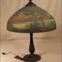 Hand Painted Glass Lamp Shades - Foter