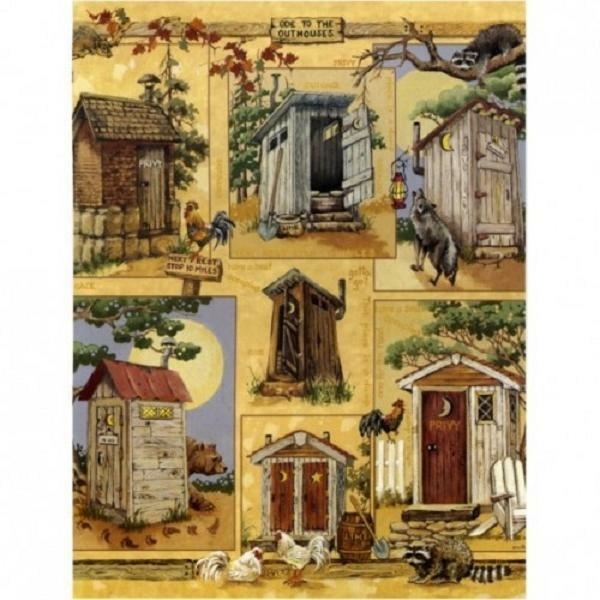 Outhouses Shower Curtain Foter