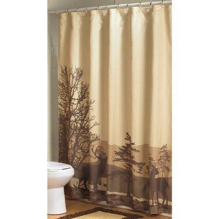 deer shower curtain ideas on foter