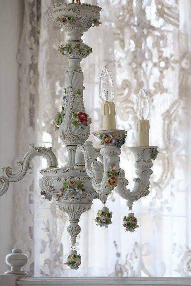 White Porcelain Chandelier  Ideas on Foter