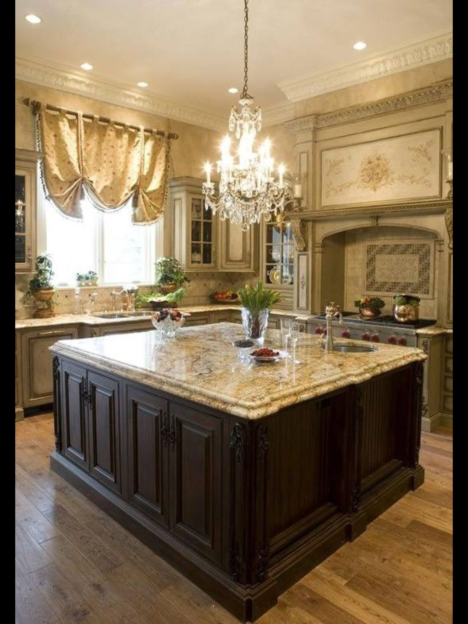 kitchen chandeliers corner cabinet storage tuscan style ideas on foter 5