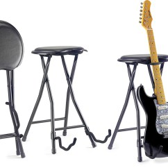 Guitar Shaped Chair Black Plastic Garden Chairs Stools Ideas On Foter Stagg Foldable Stool And Stand Dawsons Music