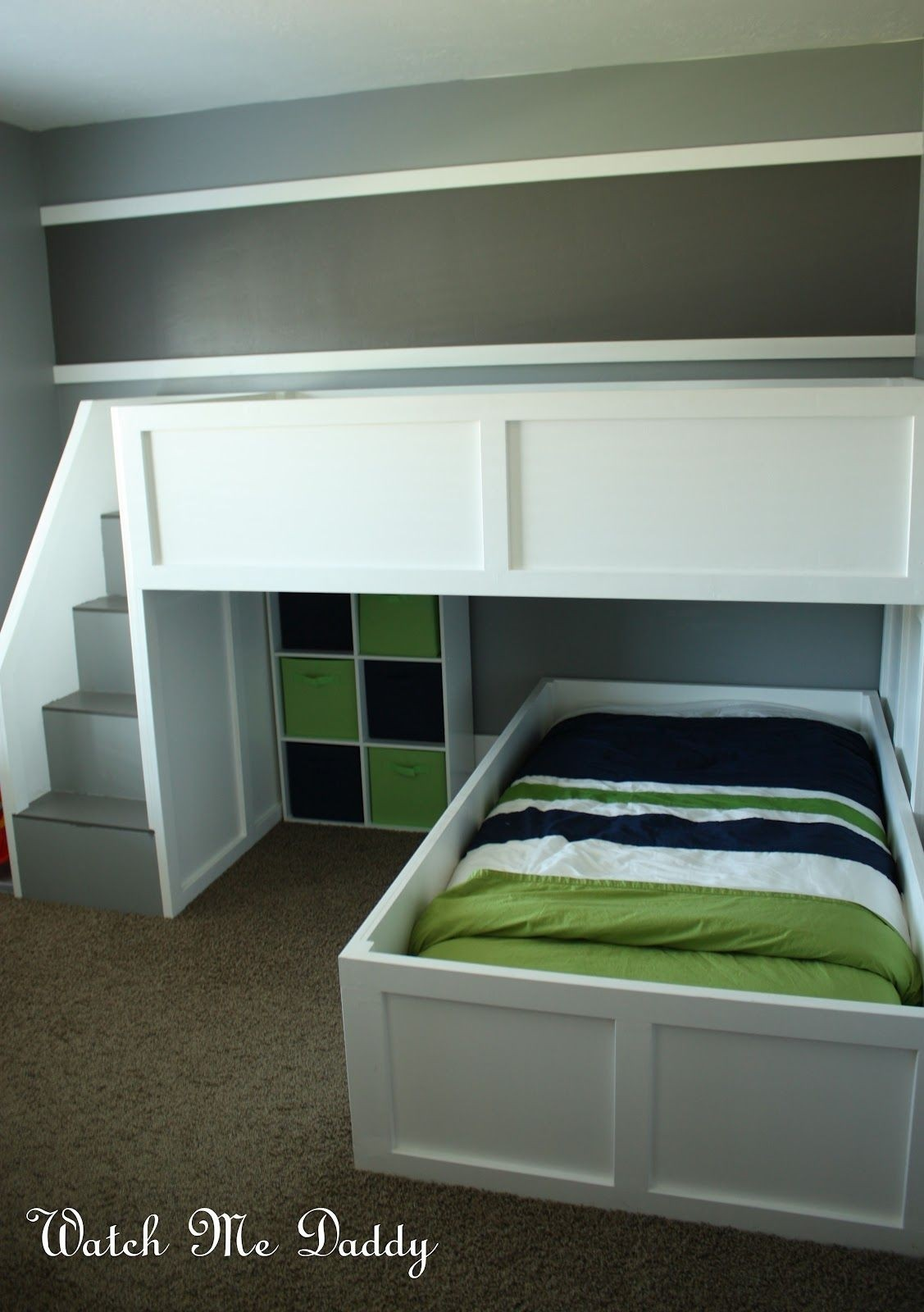 L Shape Loft Bed Ideas On Foter