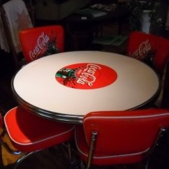 Coca Cola Chairs And Tables Wobble Chair Reviews Furniture Ideas On Foter Table 2