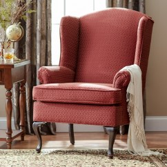 Traditional Wingback Chair Porch Rocking Canada Wing Chairs Ideas On Foter Damask By Serta Upholstery