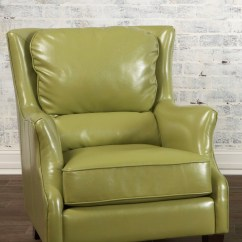 Rocking Chair Recliner For Nursery Office Back Pain Lime Green Accent - Foter