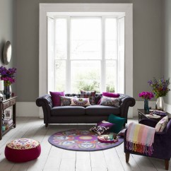 Orange Fabric Sectional Sofa Sofasandstuff Tunbridge Wells Purple Living Room Furniture - Foter