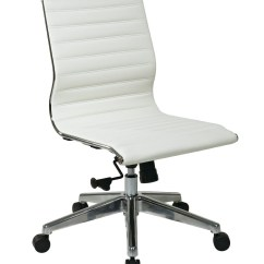 Leather Desk Chairs How Much To Reupholster A Dining Room Chair White Ideas On Foter Mid Back Eco Office